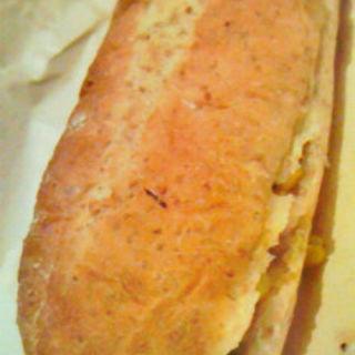 焼きトウモロコシとモッツァレラのサンド(渋谷チーズスタンド (CHEESE STAND))