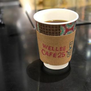 コーヒー(ガテマラ)(Wellbe CAFE 25°)