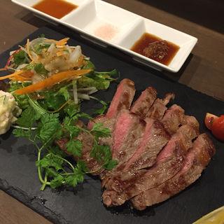 国産黒毛和牛 サーロインステーキ(いち輪 羽衣店 (イチリン))