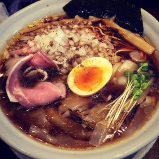 至極のワンタン麺(NOODLE CAFE SAMURAI)
