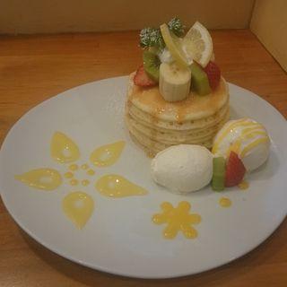 ココレモンのパンケーキ(パンケーキママカフェ VoiVoi (ヴォイヴォイ))