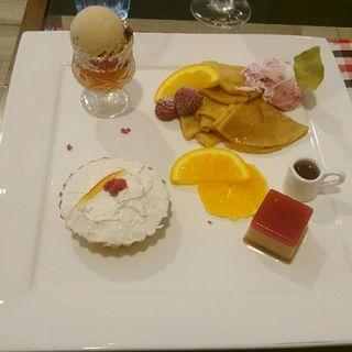 ラズベリーとオレンジのおやつ(エイトジュール (8 jours))