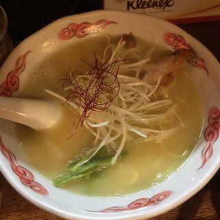 鶏白湯ラーメン(麺酒処 ぶらり )