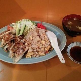 炒飯と餃子のランチ(太閤)