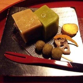 自家製デザートセット(ギャラリー&カフェ三味)
