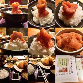 メンチカツ定食(やまや JR三ノ宮店 )