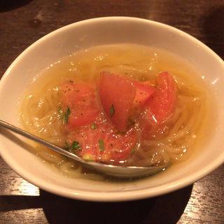 バンビーナトマト冷麺(うしごろバンビーナ・カルボーネ 中目黒店 )