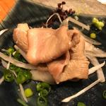 鴨わさ(酒と蕎麦 まき野)