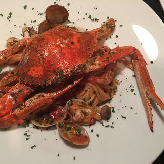 渡り蟹のトマトソース(Pasta Piccola due 車道店 (パスタ ピッコラ ドゥエ))