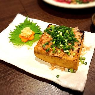 厚揚げおかべ焼(霧島地鶏 きばいやんせ (きりしまじどり きばいやんせ))