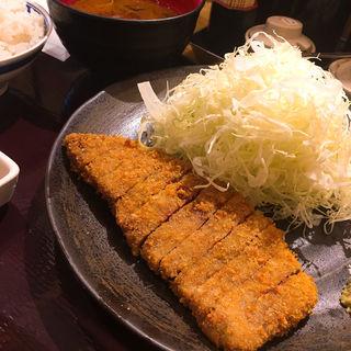 牛ロースかつ膳(並)(牛カツ専門店 京都勝牛 秋葉原)