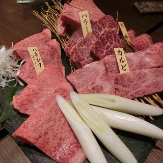 特上盛り合わせ(近江牛焼肉 Jiro)