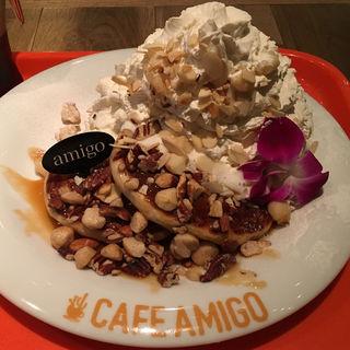 ヘルシー・パンケーキ キャラメルナッツ(CAFE AMIGO (カフェ アミーゴ))