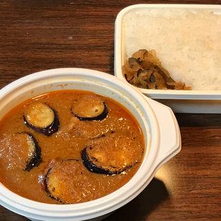 ナスチキン 発酵バタートッピング ライス400g(curry 草枕 (カレー クサマクラ))