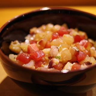 海鮮漬け丼(ほそ川 )
