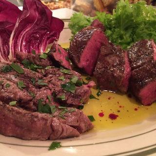 牛肉のグリル(オステリア ラディーチ)