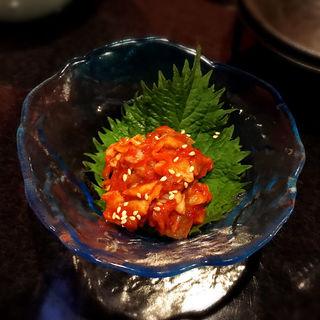 チャンジャ(おでんや潮 恵比寿本店)