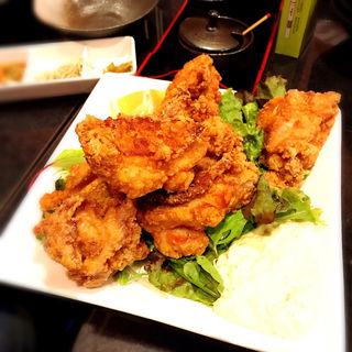 鶏の唐揚げ(おでんや潮 恵比寿本店)