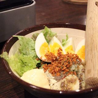 アンチョヴィポテトサラダ(とんちゃん焼 ときわ軒)
