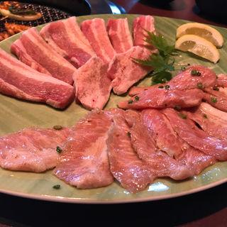 タン&カルビ(焼肉のMr.青木 (ミスターアオキ))