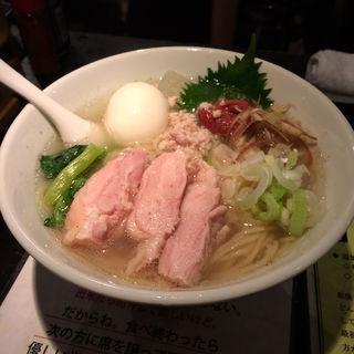 冷し塩生姜らー麺(塩生姜らー麺専門店 MANNISH (マニッシュ))