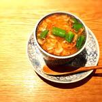 桜海老と蛤茶碗蒸し