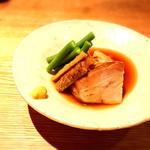 牛山豚とごぼうの角煮