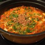 納豆チゲ鍋(Chouchouの食卓)