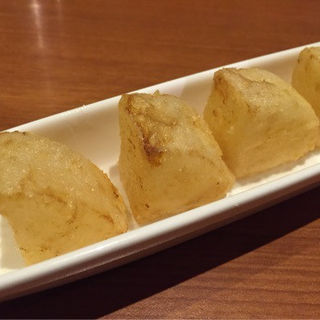 煮大根の天ぷら(もちのきそう )