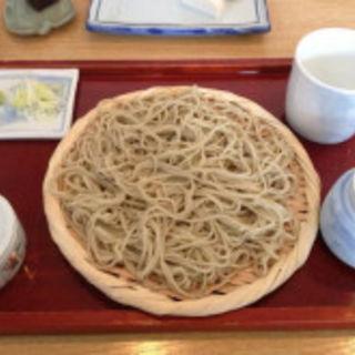 ざる蕎麦(はっぴ)