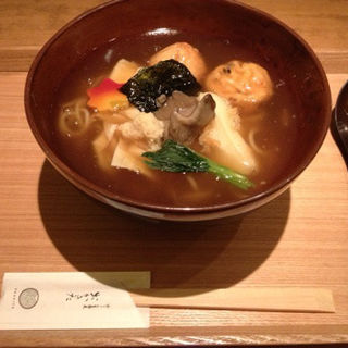 あんかけ蕎麦(京うどん 生蕎麦 岡北(おかきた))