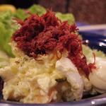 一八ポテトサラダ(焼コンビーフのせ)
