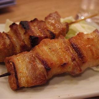 豚バラ(塩)(博多うどん酒場イチカバチカ)