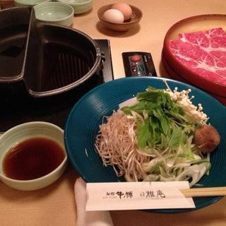 すきしゃぶ食べ放題(祇園牛禅)