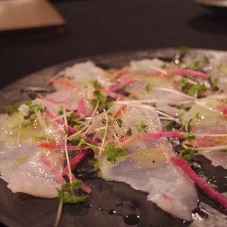 鮮魚のカルパッチョ(レジェンド ラマン (Legend L'amant))