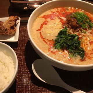 担々麺セット(デニーズ 渋谷公園通り店 (Denny's))