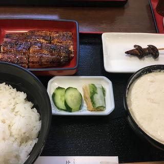 うなぎ定食(うなぎの比恵島 )