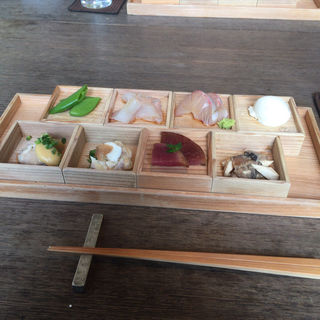前菜8種盛り合わせ(HIGASHIYAMA Tokyo)