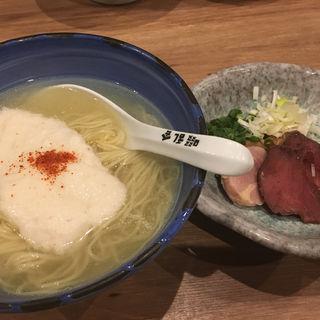 清流ジビエ  猪鹿鳥(自家製麺 啜乱会)