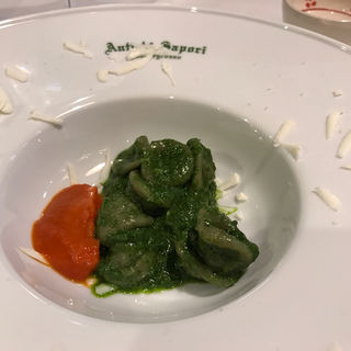 ズッキーニの葉のオレキエッテ(アンティキサポーリ (Antichi Sapori))