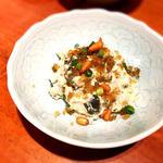 特製ピータン豆腐