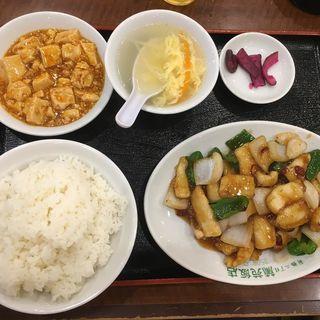 麻婆豆腐定食(蘭苑飯店 本店 )
