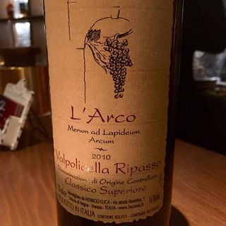 Valpolicella Ripasso Classico Superiore 2010 L'Arco(Wine & Bar Oka)