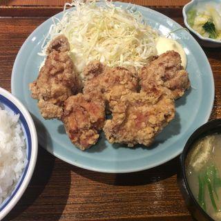 唐揚げ定食(たつみ屋 ヨドバシAKIBA )