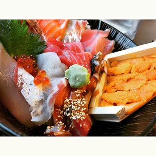 スーパー海鮮丼(博多豊一 ベイサイドプレイス博多 )