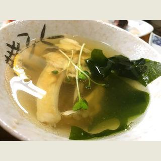 潮汁(寿司割烹 松ふじ (マツフジ))