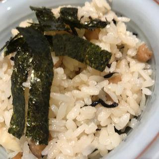 鯛飯(能古うどん 長尾本店 (のこうどん))