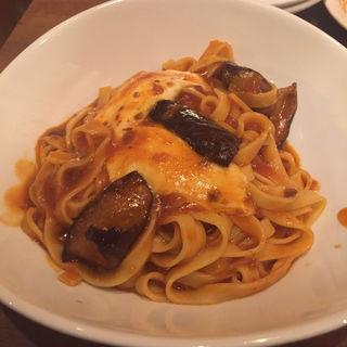 茄子とモッツァレラのミートソース(ピソラ 堺泉北店 (PISOLA))