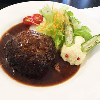ビーフハンバーグステーキ(洋食うめの )