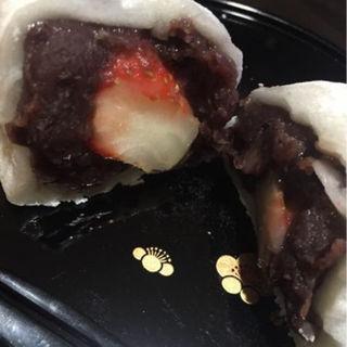 いちご豆大福(和菓子処 大角玉屋 本店 )
